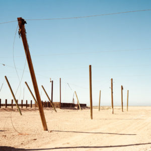 Virginia Wilcox, this is Bombay Beach