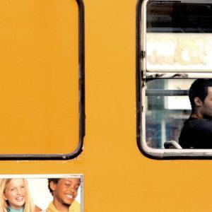 Tram frame: Massimiliano Camellini captures windowed moments of life