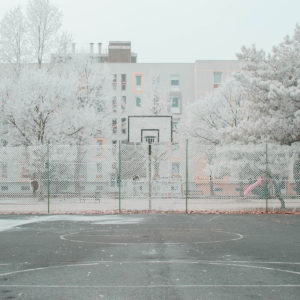 A city painted in white: Marietta Varga draws back to her dreamy memories