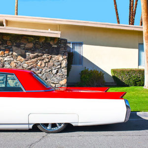 A time capsule filled of colors: Dolly Faibyshev and the bright Palm Springs
