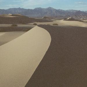 Lorenz's underexposed images create an enchanted desert
