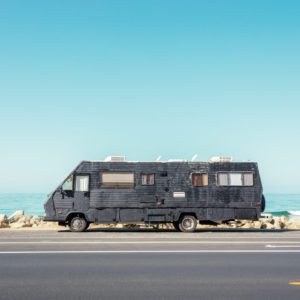Here's how Ludwig Favre tells us about the colorful coasts of California