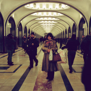 The Moscow Metro as a symbol of meeting society, according to Tomer Ifrah