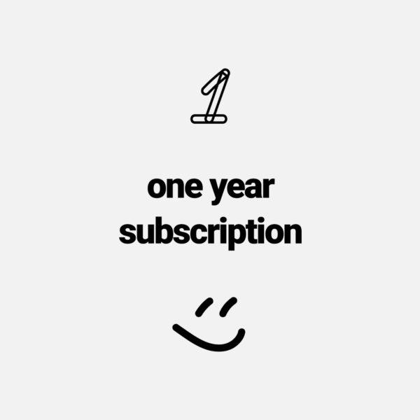 One Year Sub