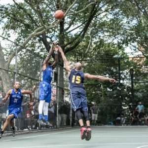Kevin documents how the Basketball can gather a whole city around a field