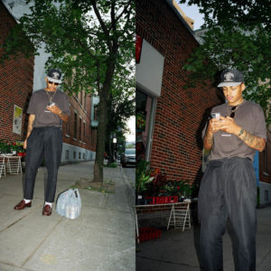 Montreal brand, Saintwoods explodes in the streets with the new collection
