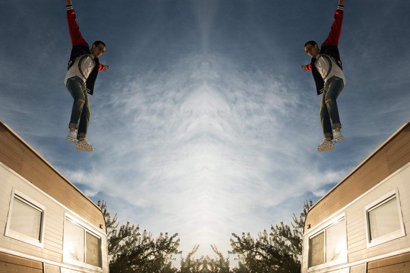 David Flying Full