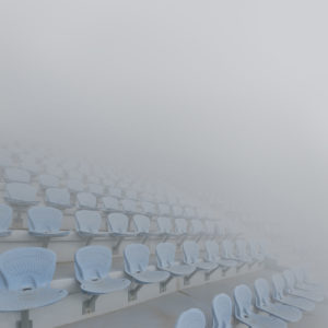 Maria Mavropoulou tells us about a future hidden in a thick fog