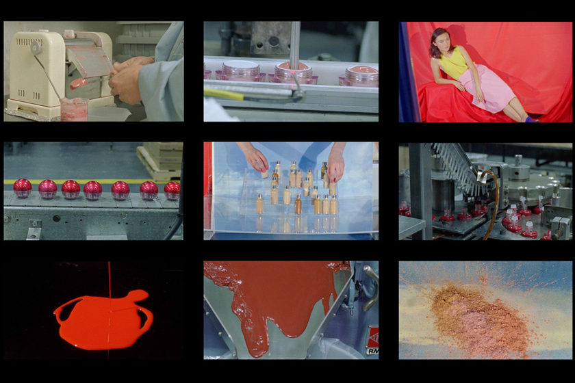 1. Sarah Cwynar Colour Factory Film Grid