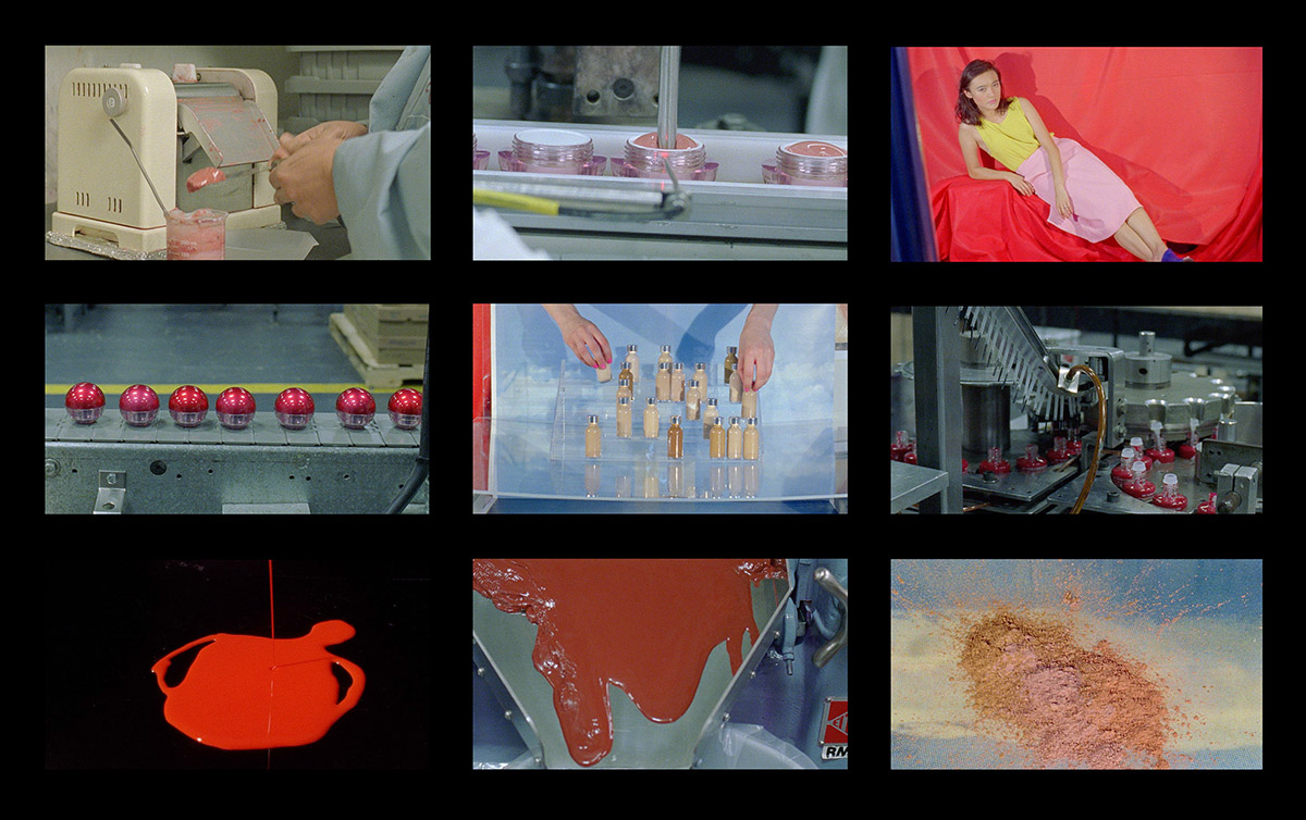 1. Sarah Cwynar Colour Factory Film Grid