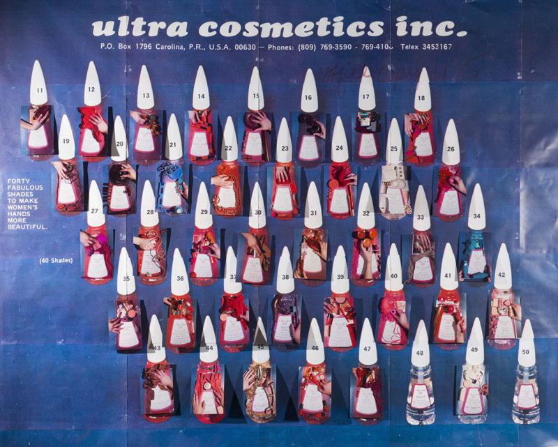 2. Sarah Cwynar Ultra Cosmetics Nail Polish