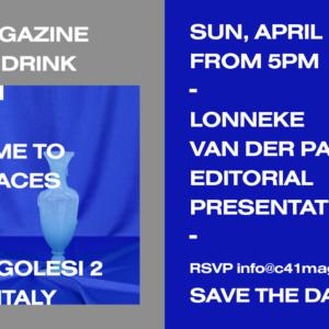 C 41 Magazine ISSUE 6 – DRINK