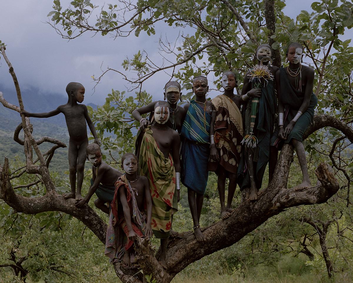 DC 077.48 001A Omo River Valley Ethiopia Simien Mountains Ethiop