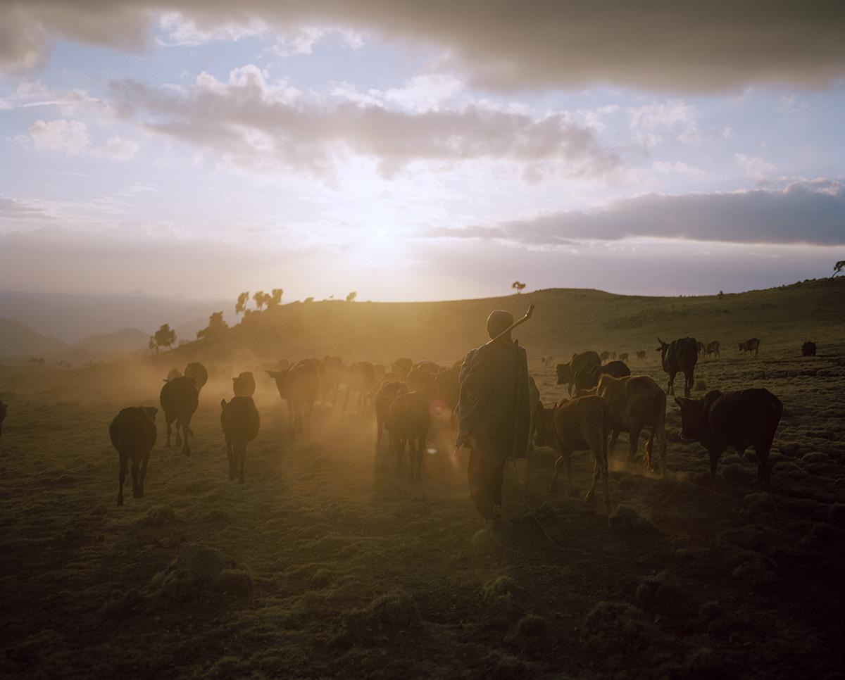 DC 096.45 001 Omo River Valley Ethiopia Simien Mountains Ethiopi