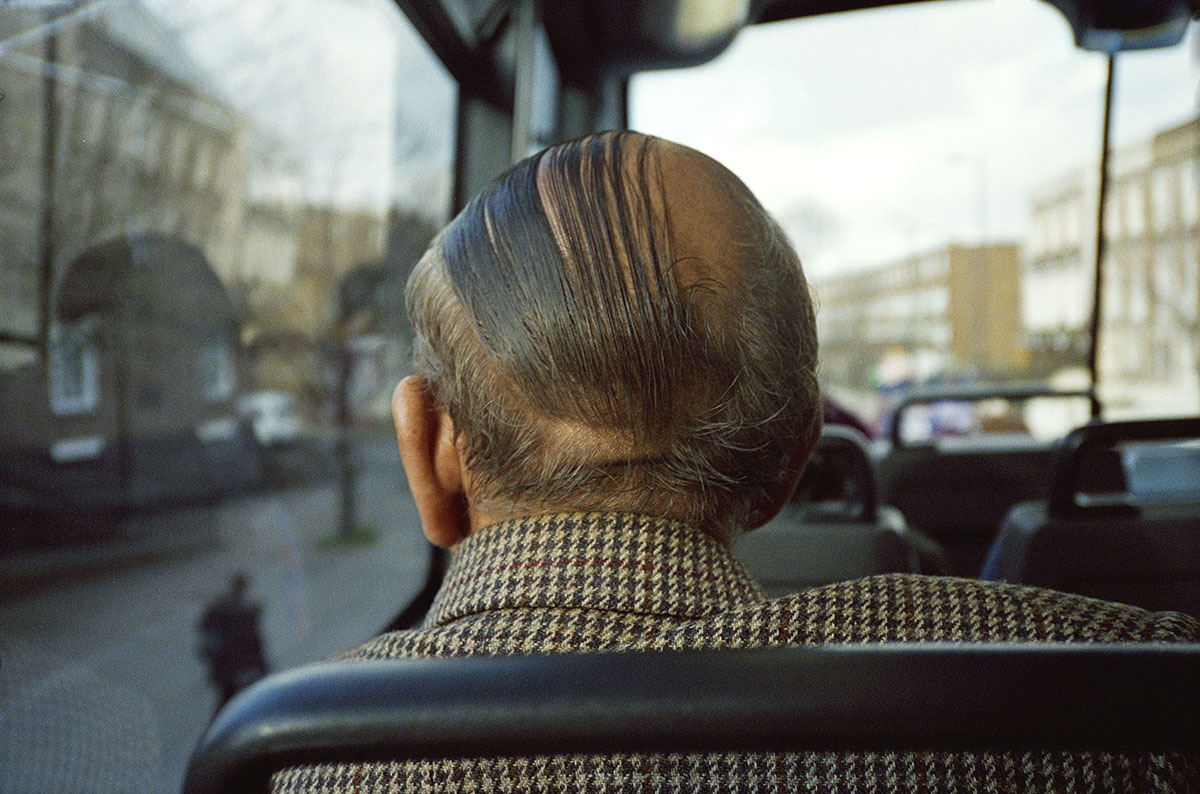 Leslie Stephen's photographs tell us the street in an imaginative way