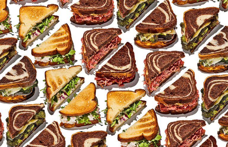 Bobby Doherty creates fascinating patterns through food