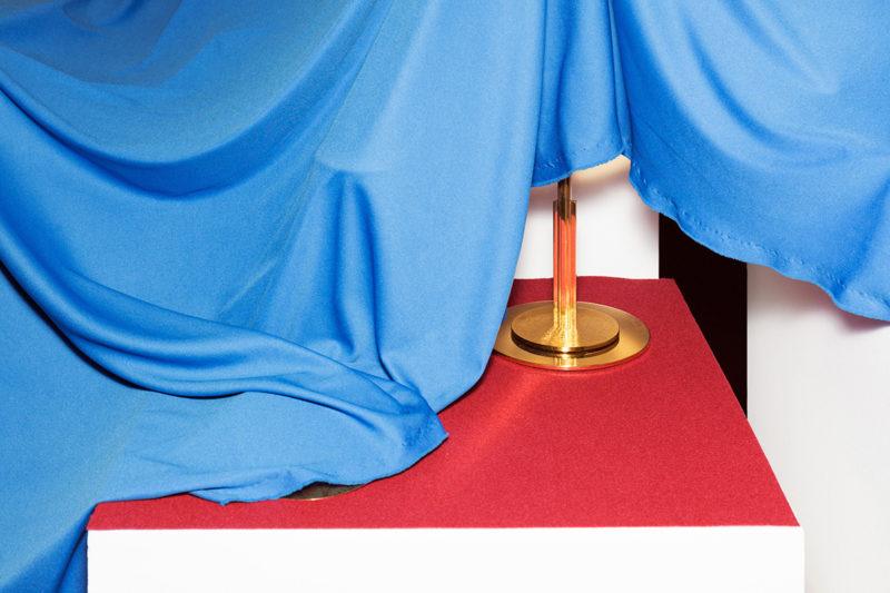 Besides Faith Mystery Of Faith: A Ciborium Cup Covered By A Cloth