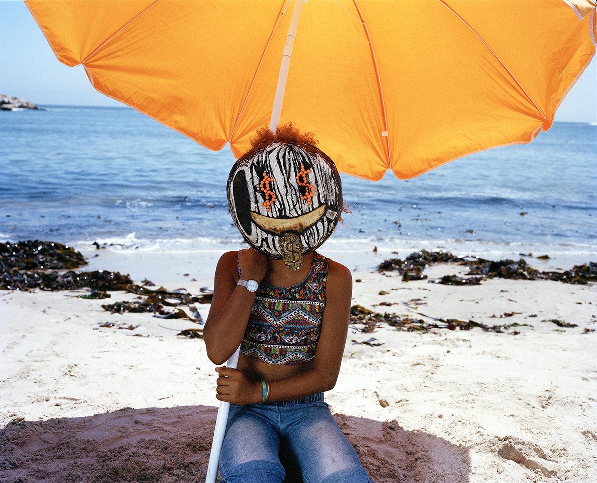 Orange Beach Umbrella 001
