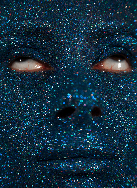 Marta Blue Creatures Selfportrait