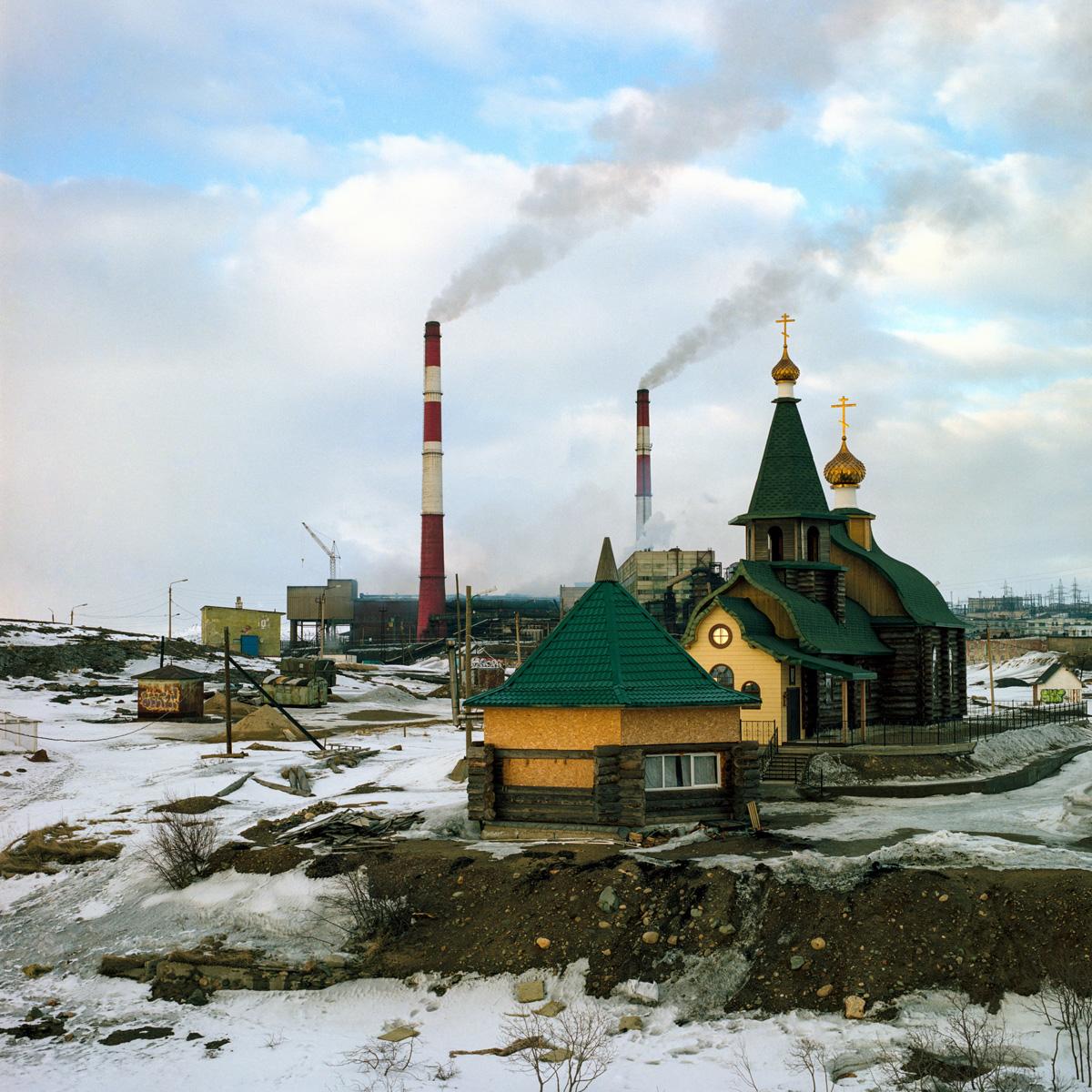 Mikhail Lebedev Snow Desert C41magazine Photography 1