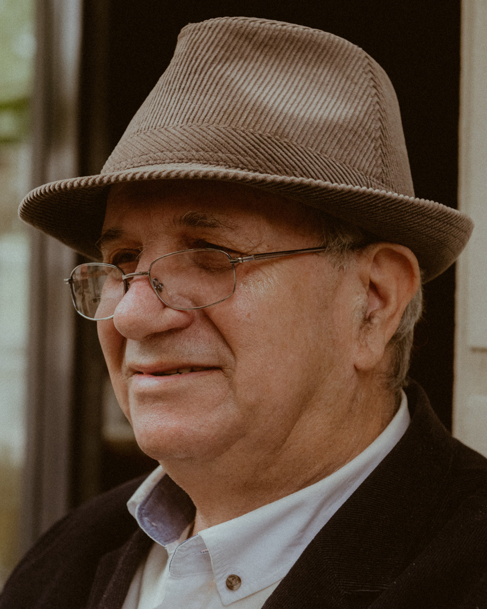 Portrait Ioannis, 76 (Kantstraße, Berlin).